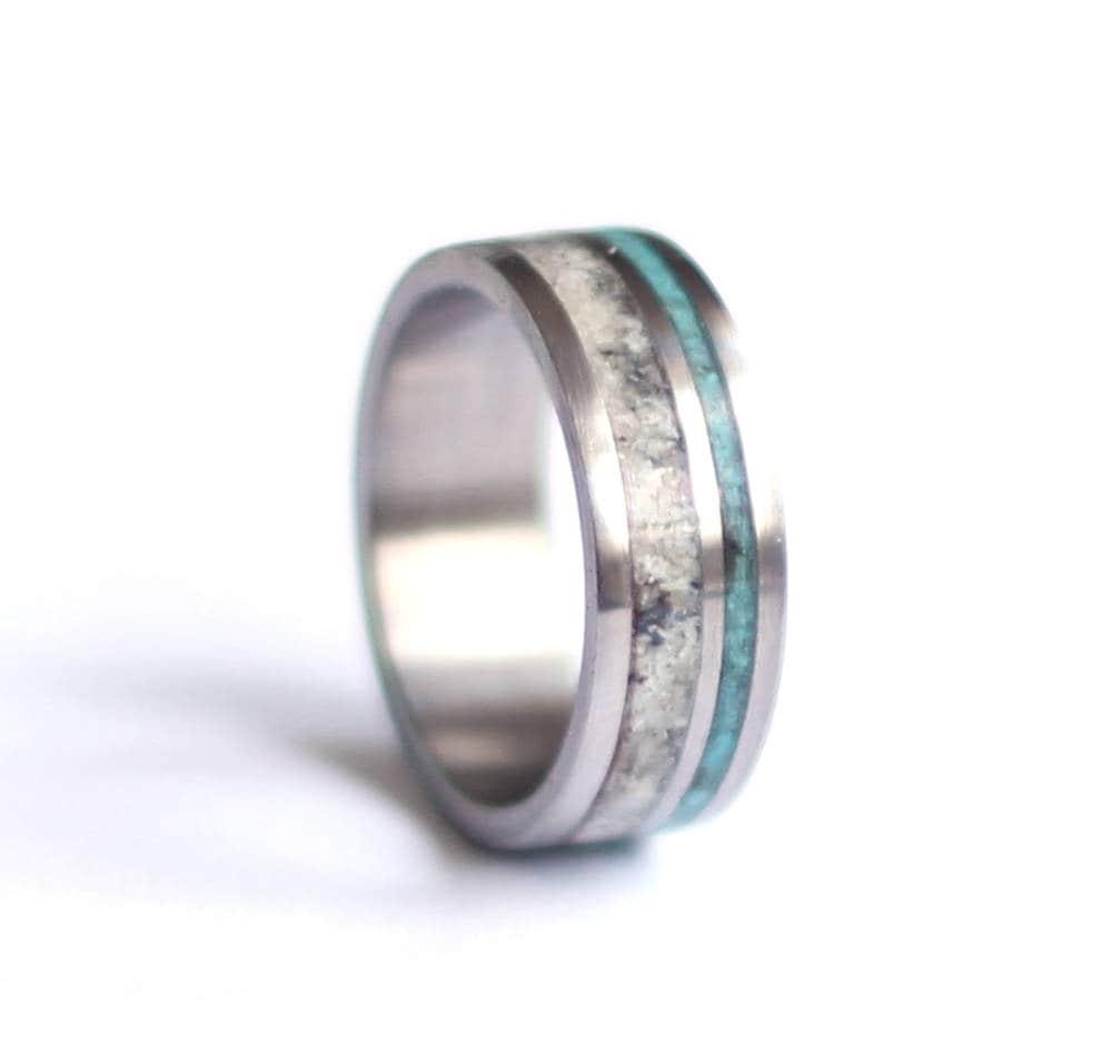 50: Antler Wedding Ring Turquoise At Websimilar.org