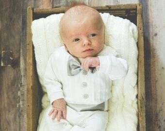 ed5c716c5 Boy baptism outfit
