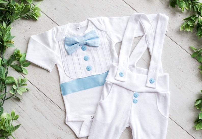 Baby Boy Easter Wedding Baptism Christening Suit Set Outfit Size 9-12 Months Clothing, Shoes & Accessories