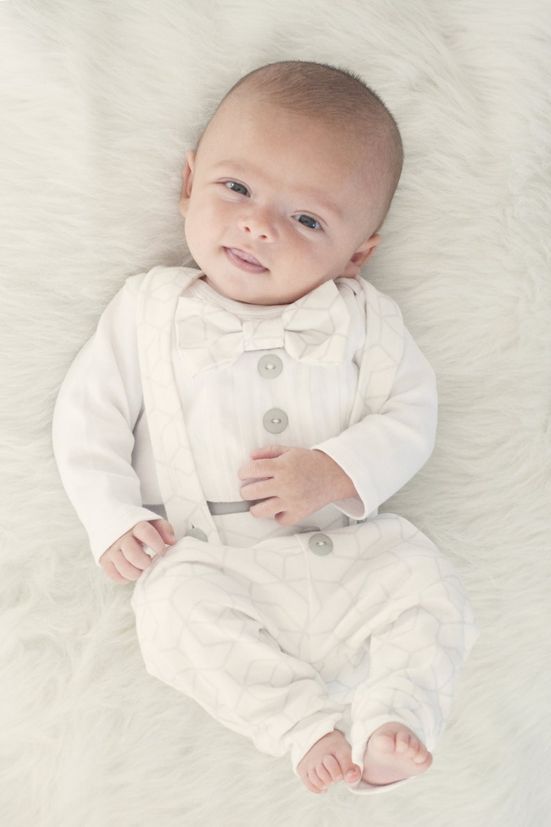 05e023f11adc Baby boy blessing outfit baptism outfit boy baby boy | Etsy