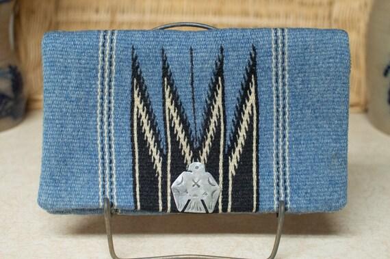 Vintage Chimayo Purse Ganscraft Southwest Silver T