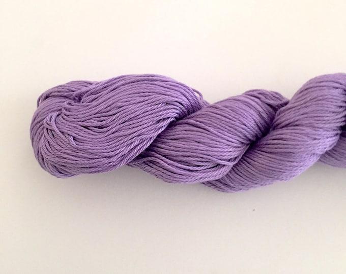 Purple Cotton Yarn DK weight, Egyptian cotton yarn, cotton yarn, knitting yarn, crochet yarn, craft yarn, purple yarn, cotton