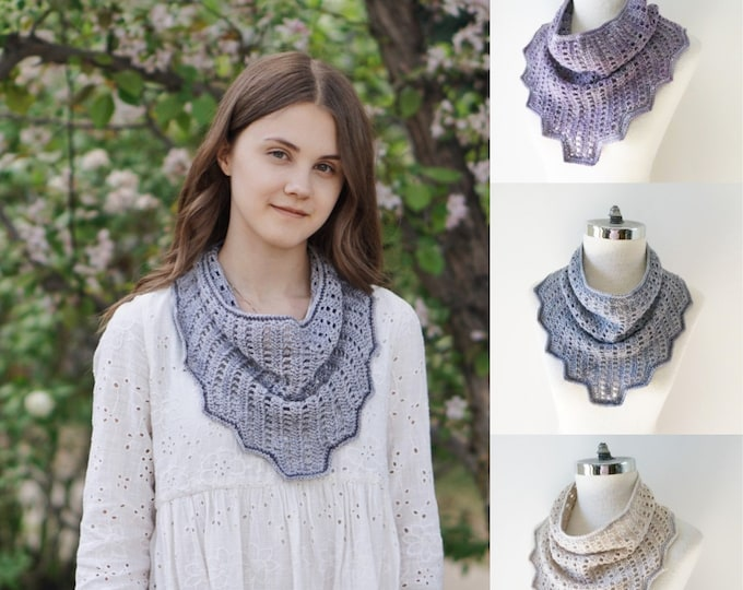 Infinity Scarves in 3 different colours with a modern essence, Mauve, Gray Ivory, merino wool scarf, READY to SHIP, cowl scarf, scarf