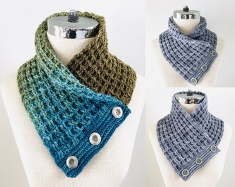 Waffle Ribbed Scarf crochet pattern, Men's scarf pattern, Woman's scarf pattern, crochet for men, crochet scarf pattern, scarf