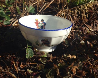 Small French Cafe au lait Bowl