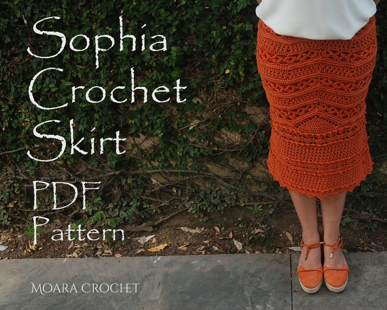 Crochet Pattern  Modern Crochet  Crochet Skirt PDF  Sexy image 0