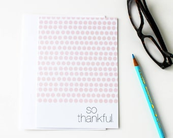 Gratitude Card, Thank You Card Wedding, Baby Shower, Thankful For You Card, Mother Daughter Card, To My Parents, Appreciation Card - 166C