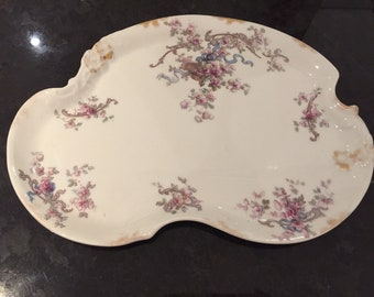 Large Wm. Guerlin &Co. Limoges France Vanity Tray