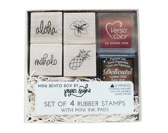 Shaka Brah Hand Aloha Hawaii Island Rubber Stamps custom stamps rubber Rubber Stamps custom stamps rubber