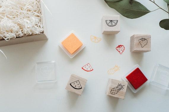 Fruit Mini Stamp Set - Paper Sushi Mini Bento Box
