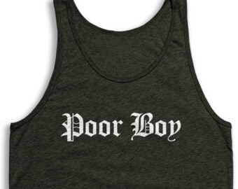 d8ea44ea7ed Poor Boy Tank Top - Vintage Tri-Blend Apparel For Men   Women
