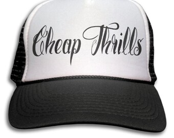 967897494f7 ... authentic trucker cap cheap thrills hat snapback mesh cap rock punk  tattoo retro b49bc 2ff93