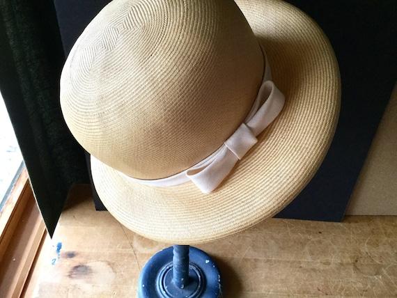 Vintage Straw Hat, Ladies Straw Hat, Spring Hat, … - image 5