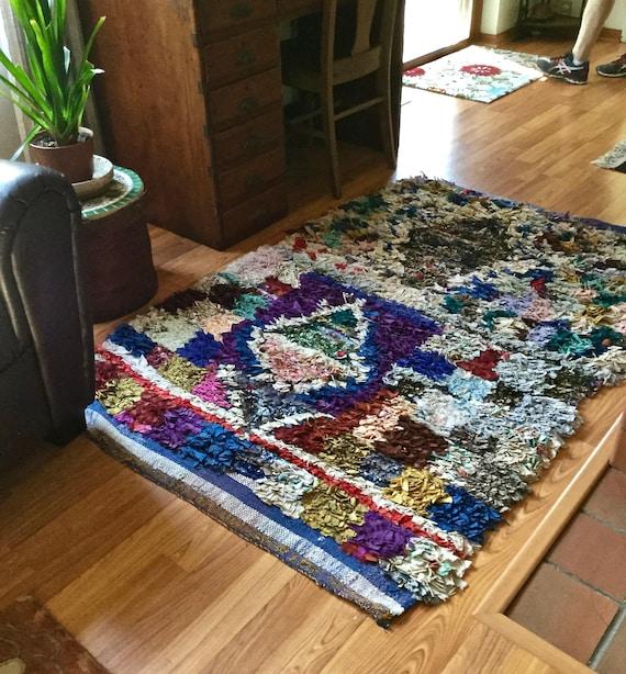 Marokkanischen Berber Teppich handgewebt Jahrgang | Etsy