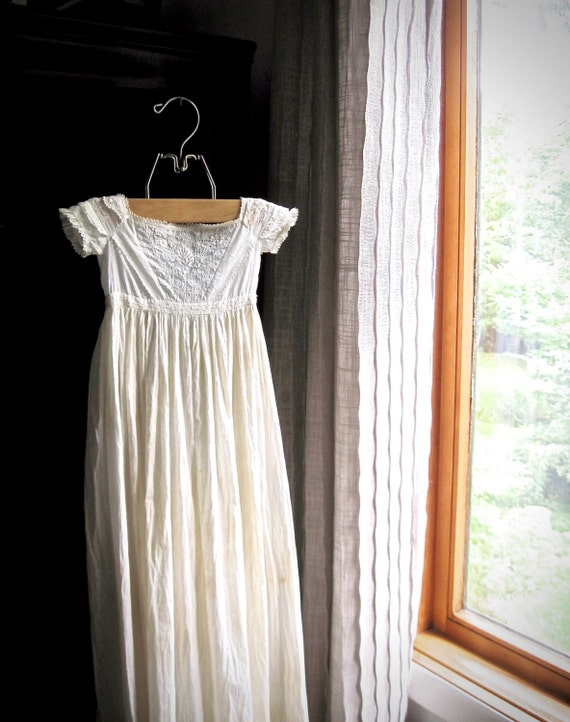 Antique Baby Christening Gown, Baby Christening Dr