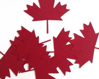 Canadian Maple Leaf Die Cuts