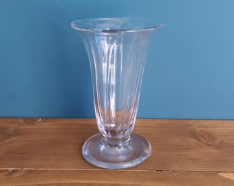 Antique Georgian Ribbed Jelly Glass c1800