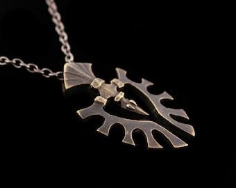 Viking Inspired Raven Pendant