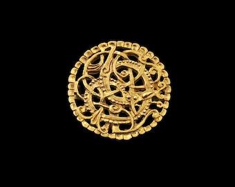 Replica of Pitney brooch 11th century England