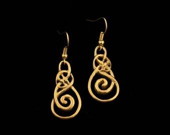 Urnes style Earrings