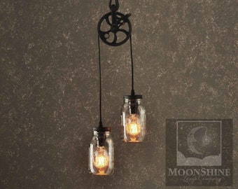 The Farmhouse - Mason Jar Pendant Light