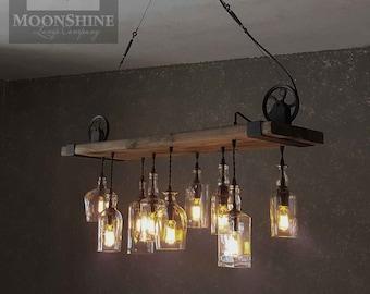 The Chesapeake - Reclaimed Wood chandelier