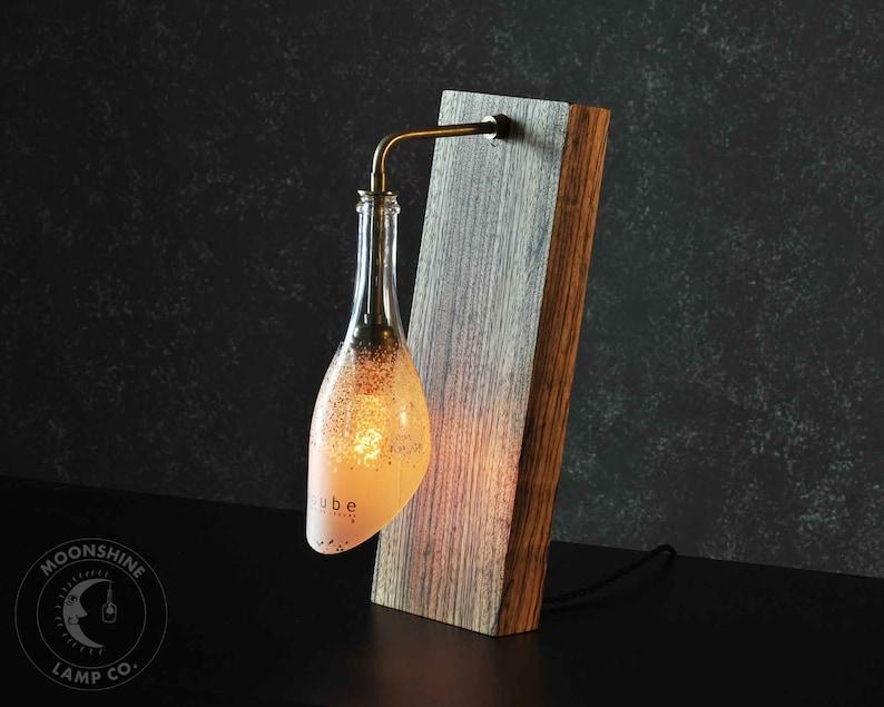 Wine Bottle Edition The Balance Unique Desk Lamp