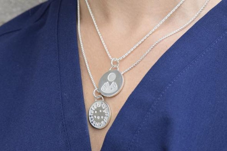 Sterling Silver Covid-19 Charms