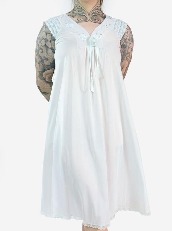 Lace & Floral Detail Slip Dress - image 2