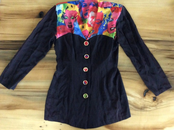 Marilyn Monroe Button Up