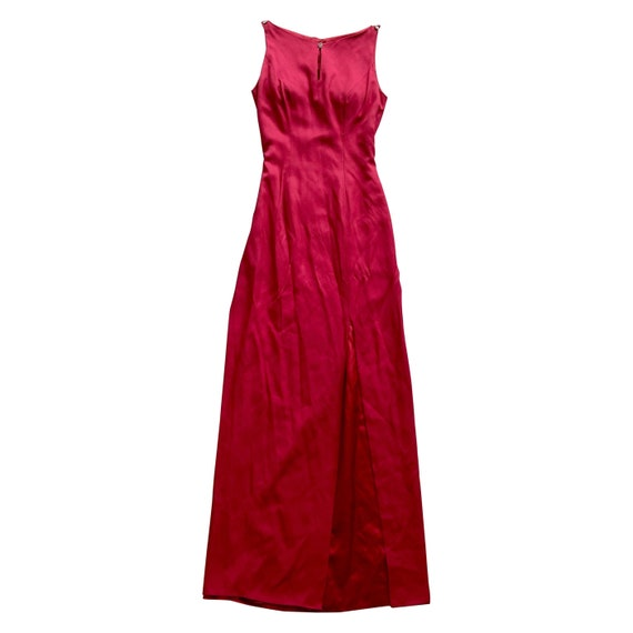 Vintage Red Gown
