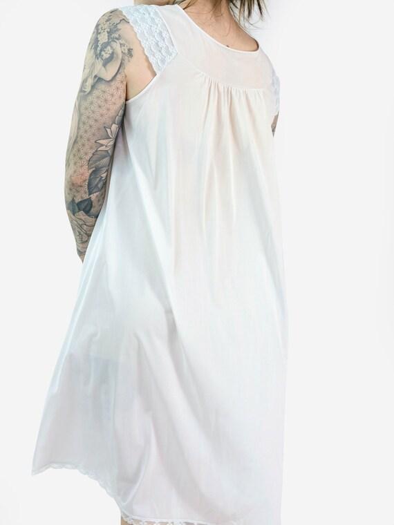 Lace & Floral Detail Slip Dress - image 3
