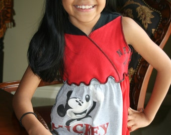 Girl Dress T-shirt Mickey Mouse Clothes T shirt Top