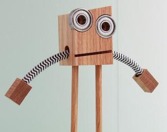 Wood Robot #1