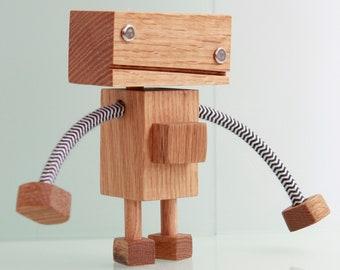 Wood Robot #3