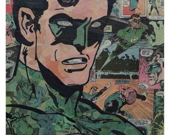Green Lantern Print 11x17