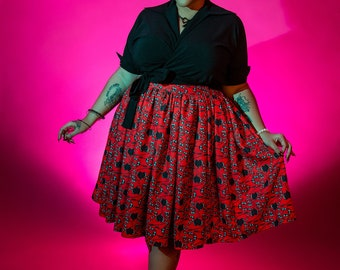 Serpentine Seduction Trixie Skirt