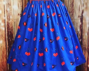 Cherry Bomb Trixie Skirt