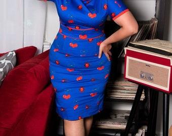 Cherry Bomb Wiggle Dress