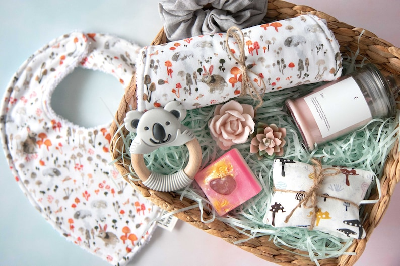 Baby and Mum Gift Set Curated Handmade Gifts / Hamper image 0