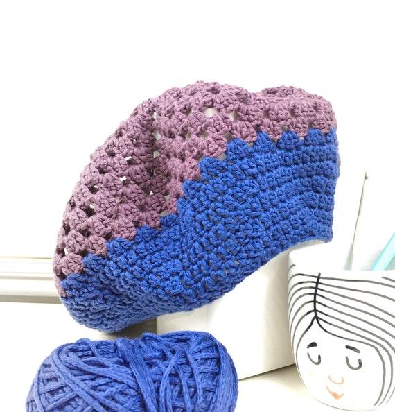 f839d251506 Crochet Beret Pattern Instant Download Marseille Beret