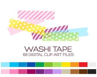 Digital Clipart Clip Art Digital Paper Scrapbook Paper Printable Planner Printable Stickers Scrapbook Stickers Polka Dot Washi Tape - A00017