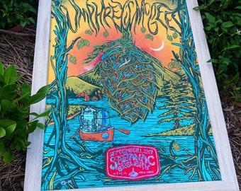Umphrey's McGee FOIL VARIANT 9/1/2019 Saranac poster