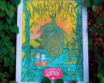 Umphrey's McGee 9/1/2019 Saranac poster