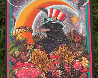 Black Crowes MAIN EDITION print for Collectionzz