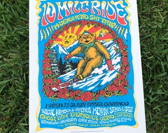 10 Mile Ride poster SHOW EDITION
