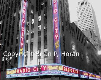 Nostalgic Series Radio City NYC