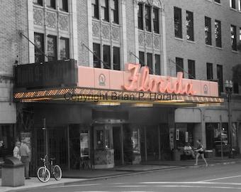 Florida Theater Jacksonville, Fl. with 11x14 black mat