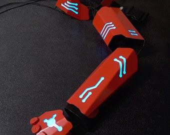 V1.5 Metal Cyber Gladiator Armor