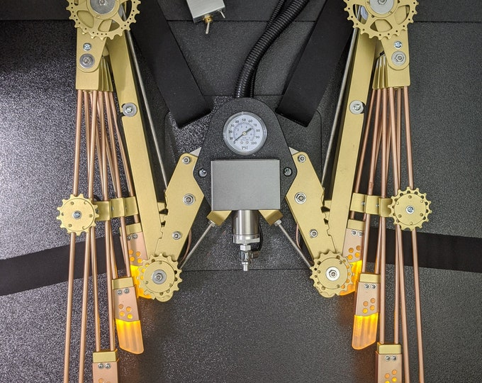 Deluxe CO2 Steampunk Wings - Opens 6.5 Feet Wide